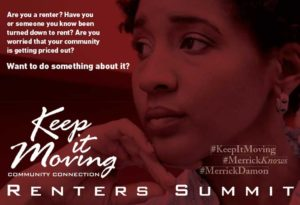 Keep it Moving Community Connection – Renter's Summit
